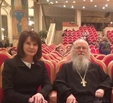 Людмила Маницкая, в качестве почетного гостя, приняла участие в открытии фестиваля «СОФИЯ-2018»