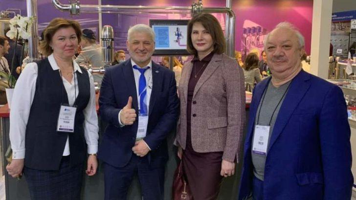 Деловые встречи руководства Молочного союза России на выставке  оборудования для молочной отрасли