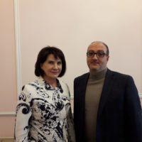 Людмила Маницкая встретилась с новым директором ВНИИ молочной промышленности