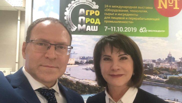 Людмила Маницкая провела переговоры с производителями оборудования