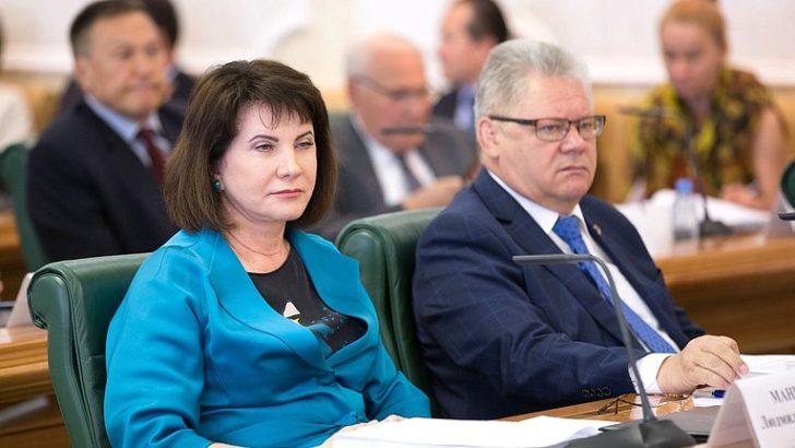 Людмила Маницкая приняла участие в заседании Совета по вопросам АПК при СФ ФС РФ